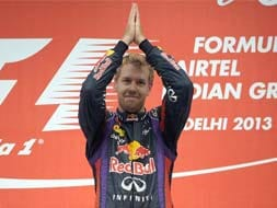 Sebastian Vettel races his way to F1 glory