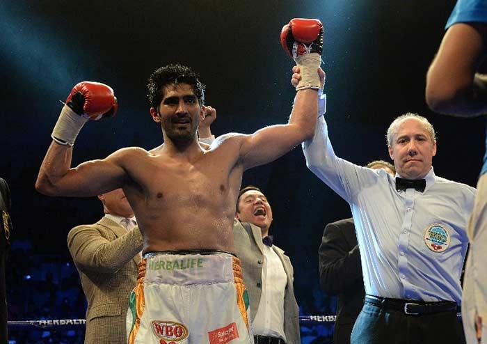 Vijender Makes History, Wins WBO Asia-Pacific Title
