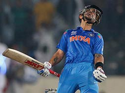 Virat Kohli: India's 'one-man army' aims for the WT20 trophy