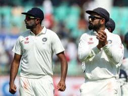 Photo : 2nd Test: Virat Kohli, Ravichandran Ashwin Shine For India On Day 3 vs England