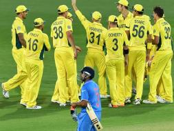 Photo : India Lose First World Cup Warm-up vs Australia