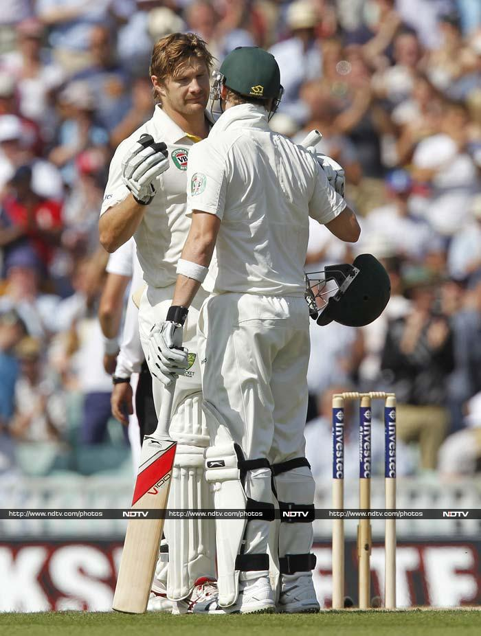 Ashes, 5th Test: Watson seals Day 1 honours
