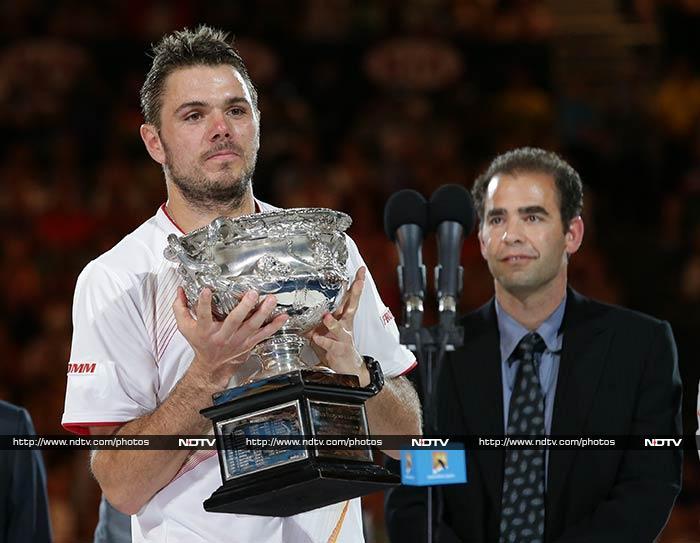 Australian Open: Stanislas Wawrinka stuns Nadal, wins his first Grand Slam