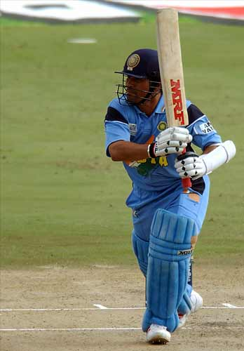 March 1, 2003 in Centurion: India won by six wickets