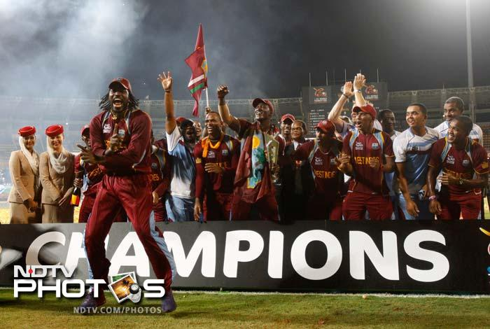 West Indies: Seen celebrations like these, ever?