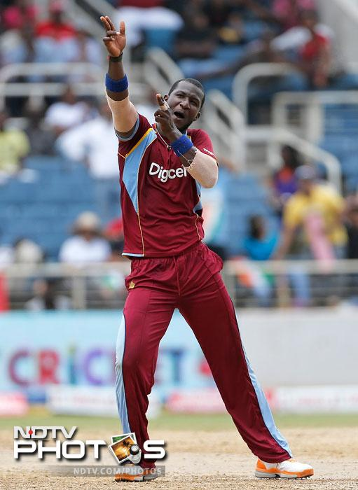 West Indies scrape past India by a wicket