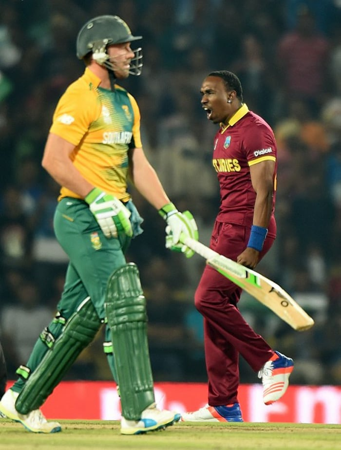 World T20: West Indies Beat South Africa To Seal Spot in Semi-Finals