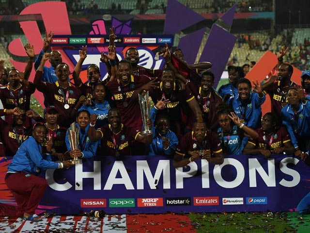 World T20: Champion! Champion! West Indies Seal History in Eden Gardens