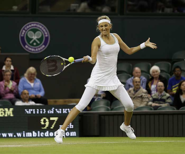 Wimbledon 2012: Day 8 Highlights