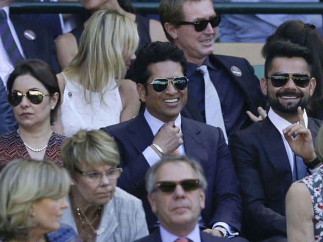 Photo : Tendulkar, Kohli, Princess Kate Add to Star Power in Wimbledon