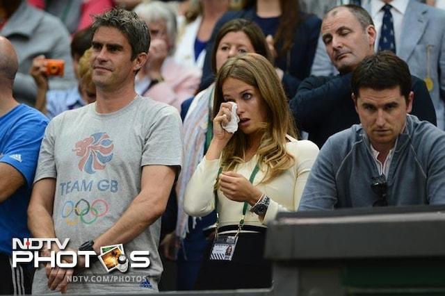 Celebs at Wimbledon 2012