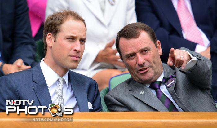 Celebs at Wimbledon 2012