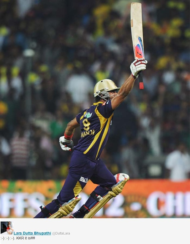Celebrities wish Kolkata for winning the IPL