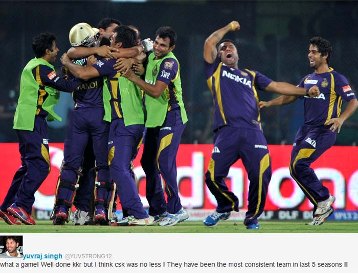 Celebrities wish Kolkata for winning the IPL