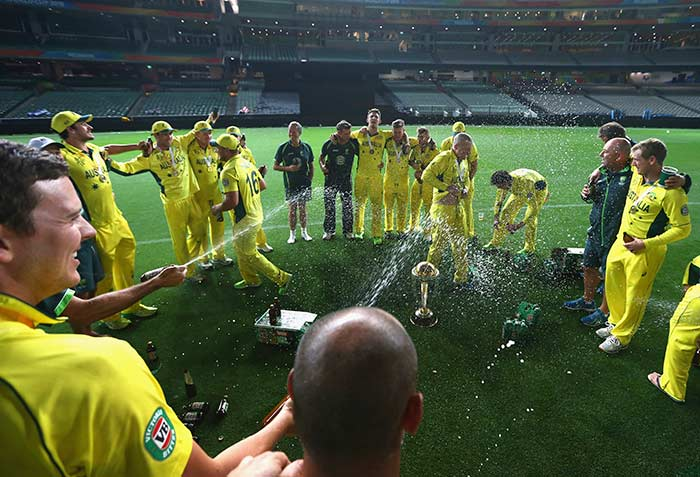 Australia in High Spirits After World Cup Win
