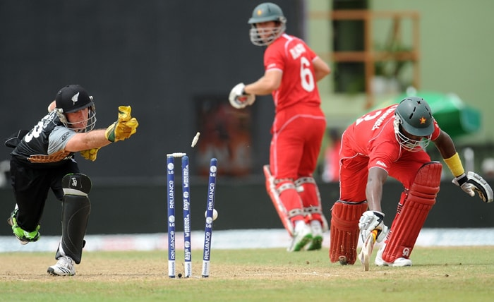 WT20: NZ vs Zim