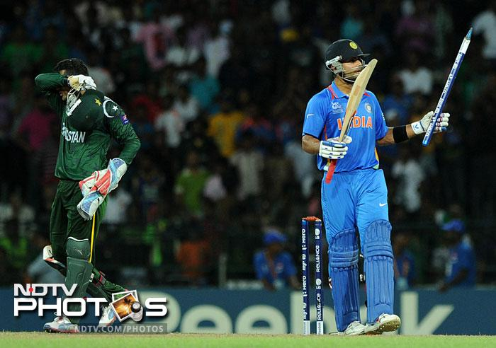 World T20: India destroy Pakistan by 8 wickets.