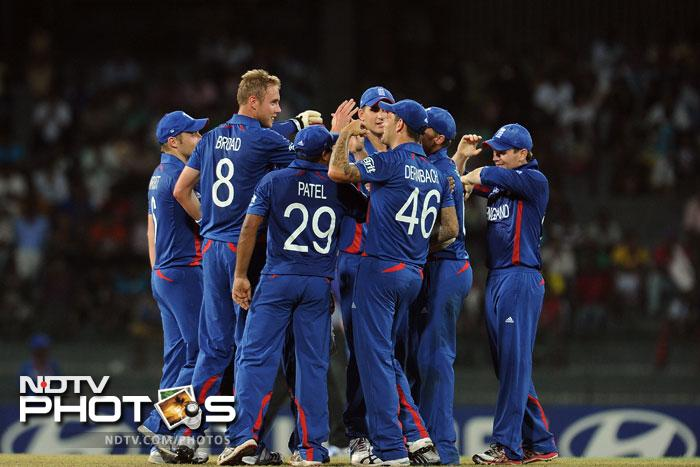 World T20: Afghanistan go down to England