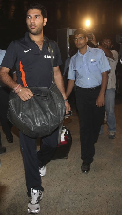 Team India leaves for West Indies