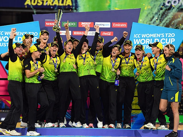 Women's T20 World Cup: Australia Beat India By 85 Runs To Clinch 5th Title