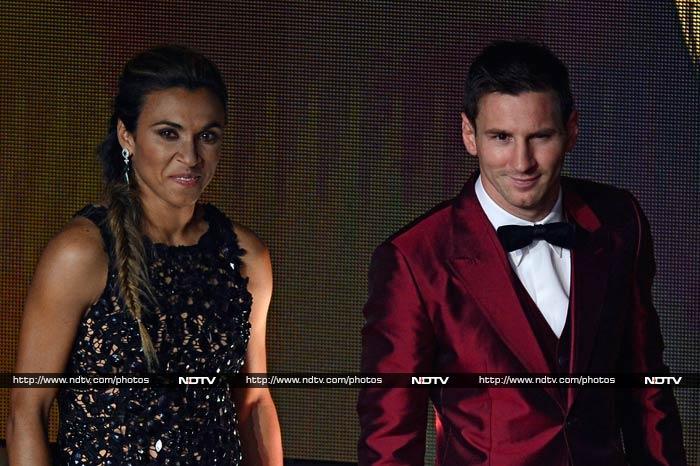 Lionel Messi outdresses Cristiano Ronaldo at FIFA Ballon d'Or ceremony
