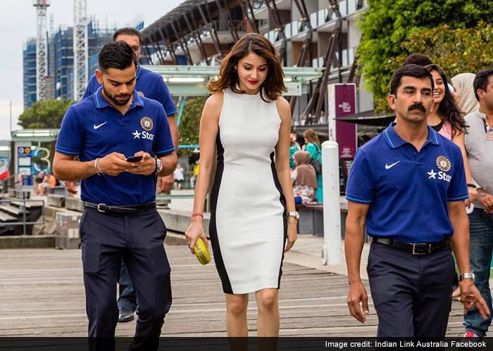 Virat Kohli and Anushka Sharma: In Cruise Mode in Sydney
