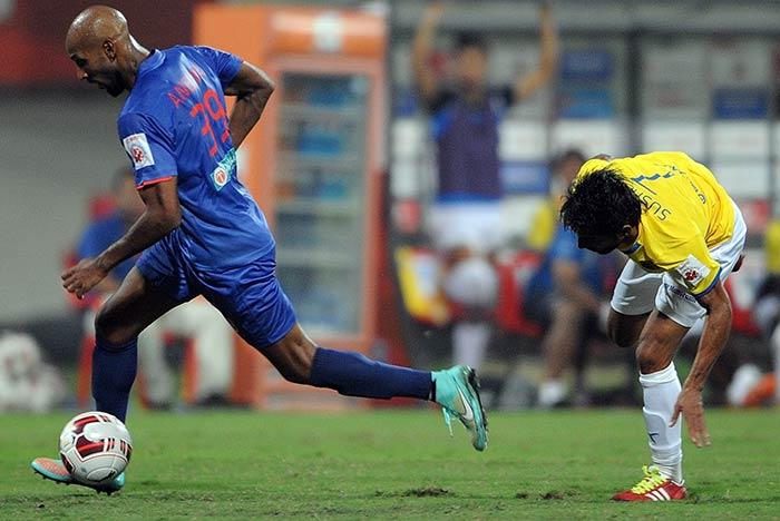 ISL: Nicolas Anelka Stars in Mumbai City FCs Victory
