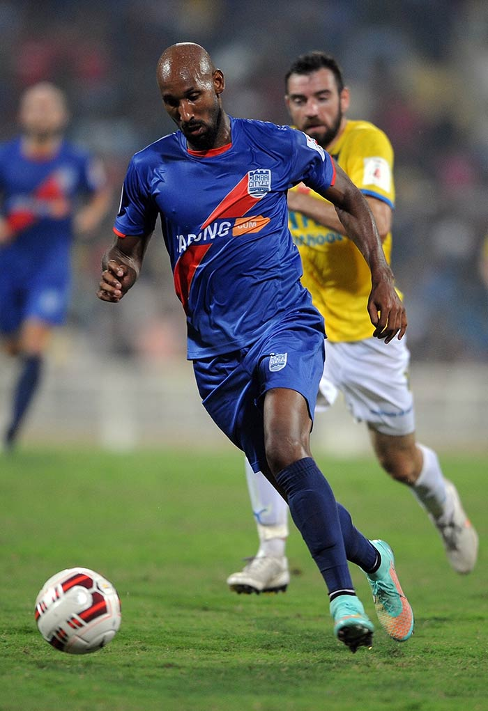 ISL: Nicolas Anelka Stars in Mumbai City FC's Victory | Photo Gallery