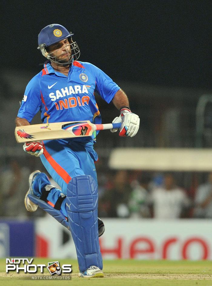 Yuvraj Singh returns to the cricket field