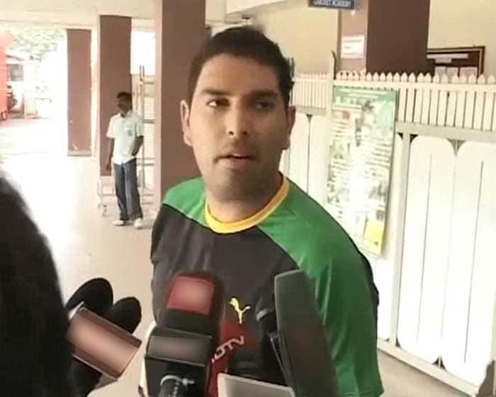 Yuvraj's back to where he belongs - cricket field