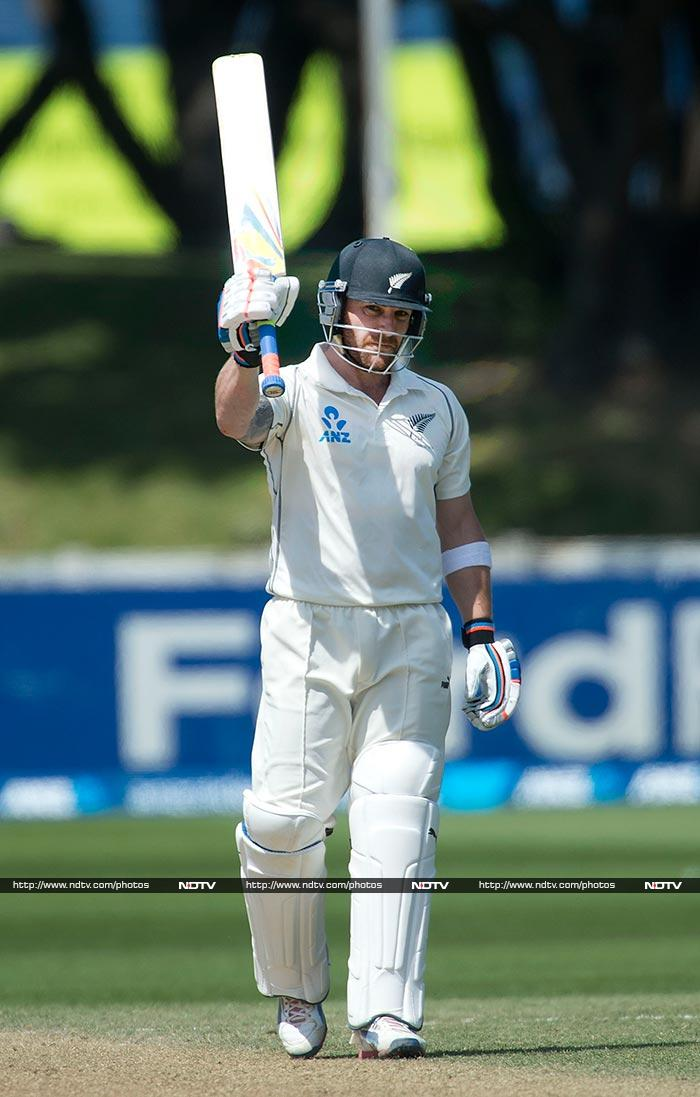 Brendon McCullum on verge of history as he hits 281 not out vs India in Wellington