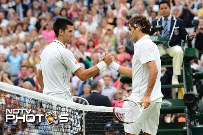 Wimbledon 2012: Federer beats Djokovic, reaches final
