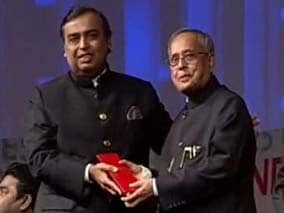 I dedicate this honour to my father Dhirubhai Ambani: Mukesh Ambani
