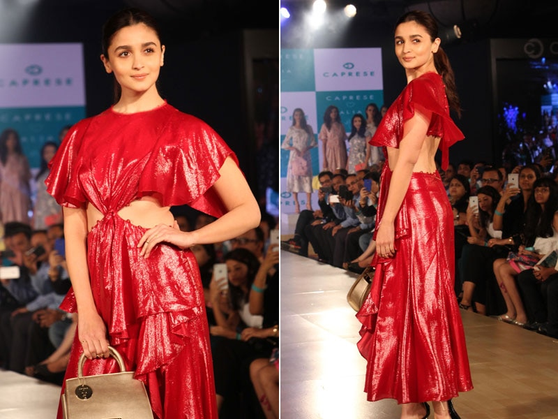 Who's Afraid Of Bold Red? Not Alia Bhatt