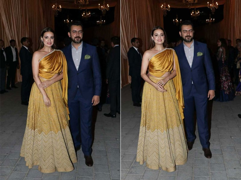 5 Ways To Ace The Golden Goddess Look Like Dia Mirza