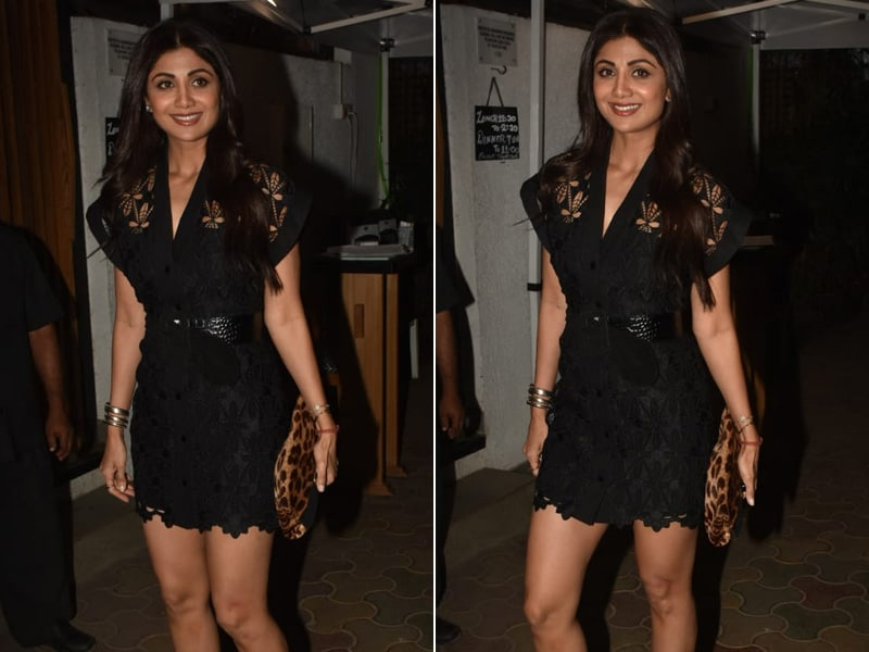 Shilpa Shetty Is Giving Us The Saturday Night Style Tips We Need
