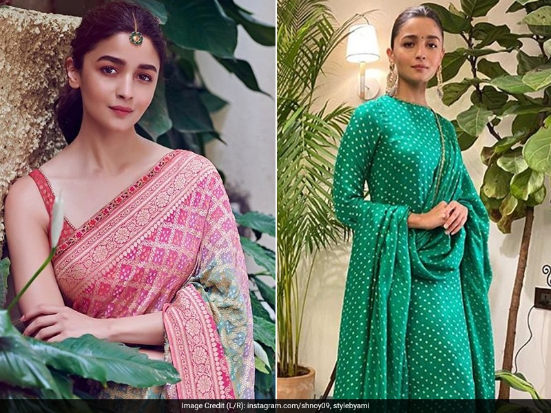 Show Your Love For Colours Like Alia Bhatt In Chic Ethnic Wear