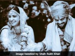 Anushka-Virat, The 'Real Rab Ne Bana Di Jodi,' Tweets SRK