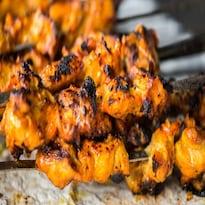 BBQ Chicken Skewers