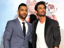 Video: Sushant And Dhoni's Partnership During Biopic's Promotion