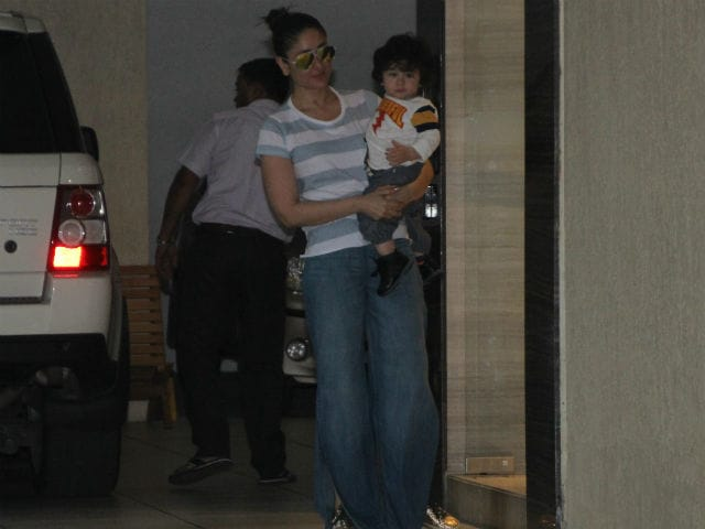 Sunday With Kareena Kapoor And Son Taimur
