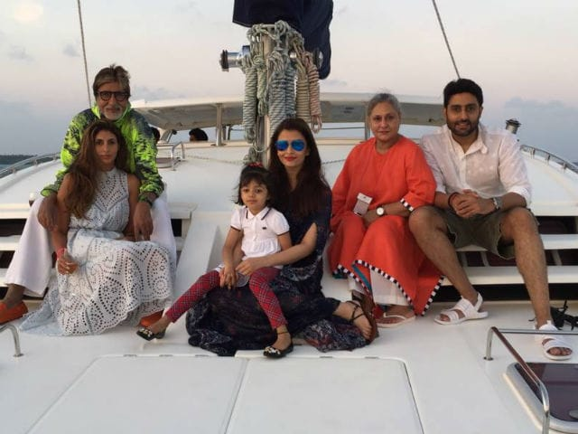 Amitabh Bachchan's Birthday Celebrations In Maldives