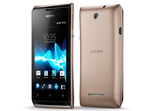 Sony announces Xperia E smartphone with Android 4.1