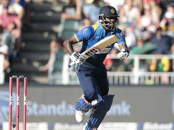2nd T20I: Injured Mathews Wins it For Sri Lanka vs South Africa