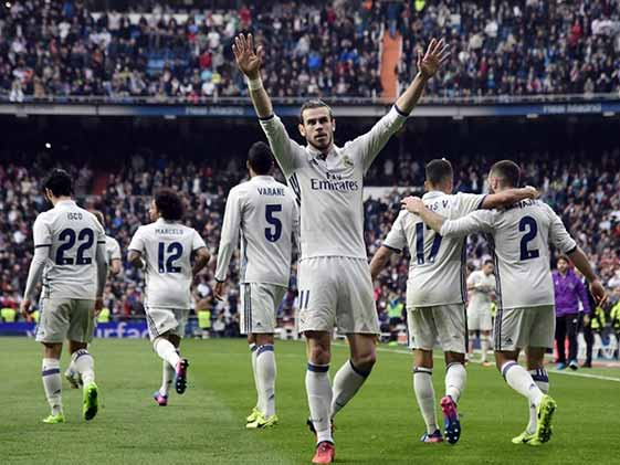 La Liga: Bale Back With A Bang As Real Madrid Extend Lead