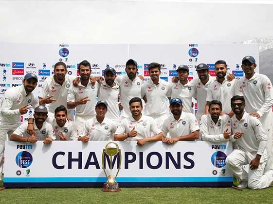 India Beat Australia By 8 Wickets, Reclaim Border-Gavaskar Trophy