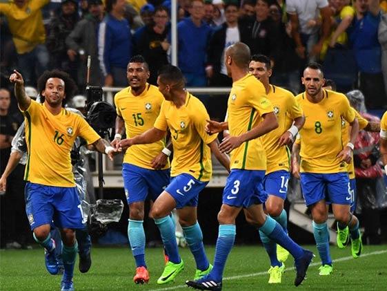 Brazil Book 2018 World Cup Berth, Argentina Tumble