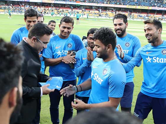 3rd T20I: Pant Youngest To Make T20I Debut For India
