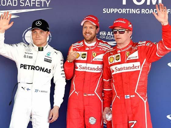 Sebastian Vettel Grabs Pole for Russian GP In Ferrari One-Two