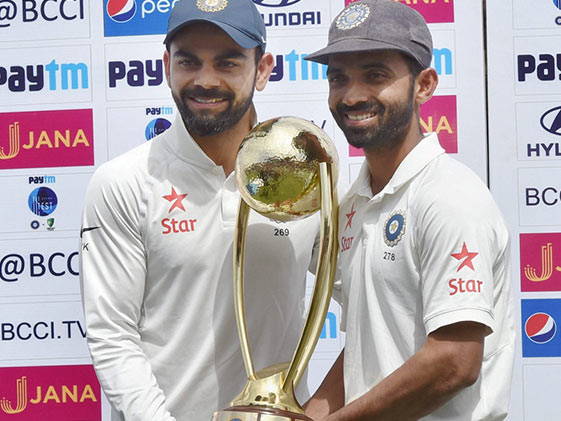 'Rahane Should Stay Captain,' Says Johnson, In Jibe At Kohli